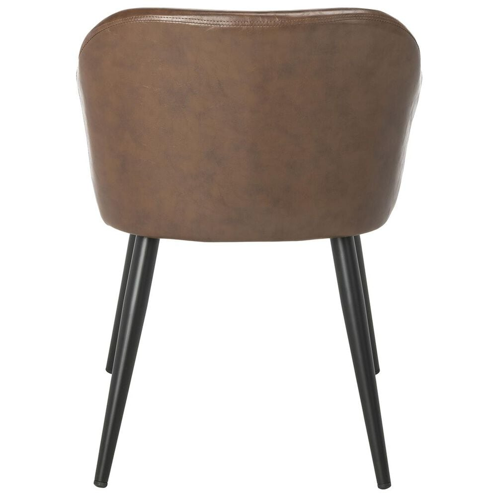 Safavieh Adalena Accent Chair in Brown, , large