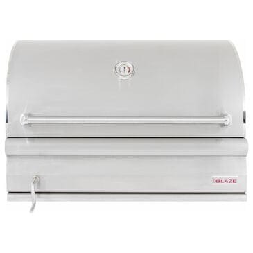 """Blaze 32"""" Professional Charcoal Grill in Stainless Steel, , large"""