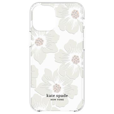 Kate Spade New York Hardshell Case for iPhone 12 mini - Hollyhock Floral, , large