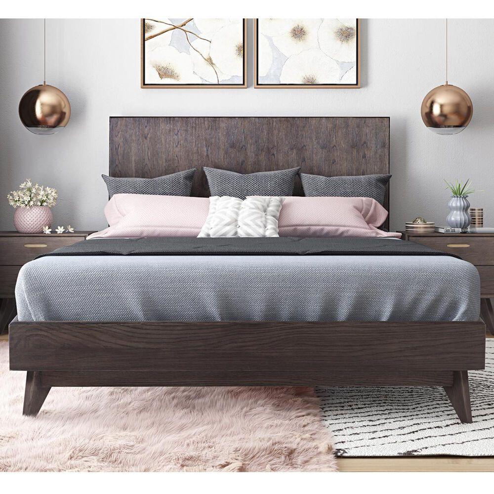 Tov Furniture Loft Queen Platform Bed in Brown, , large