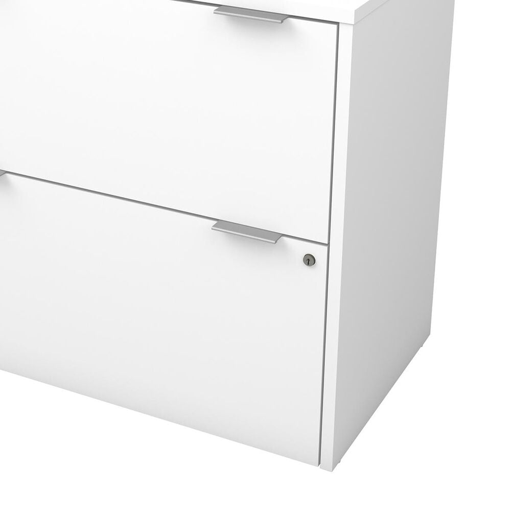 Bestar i3 Plus Lateral File in White, , large