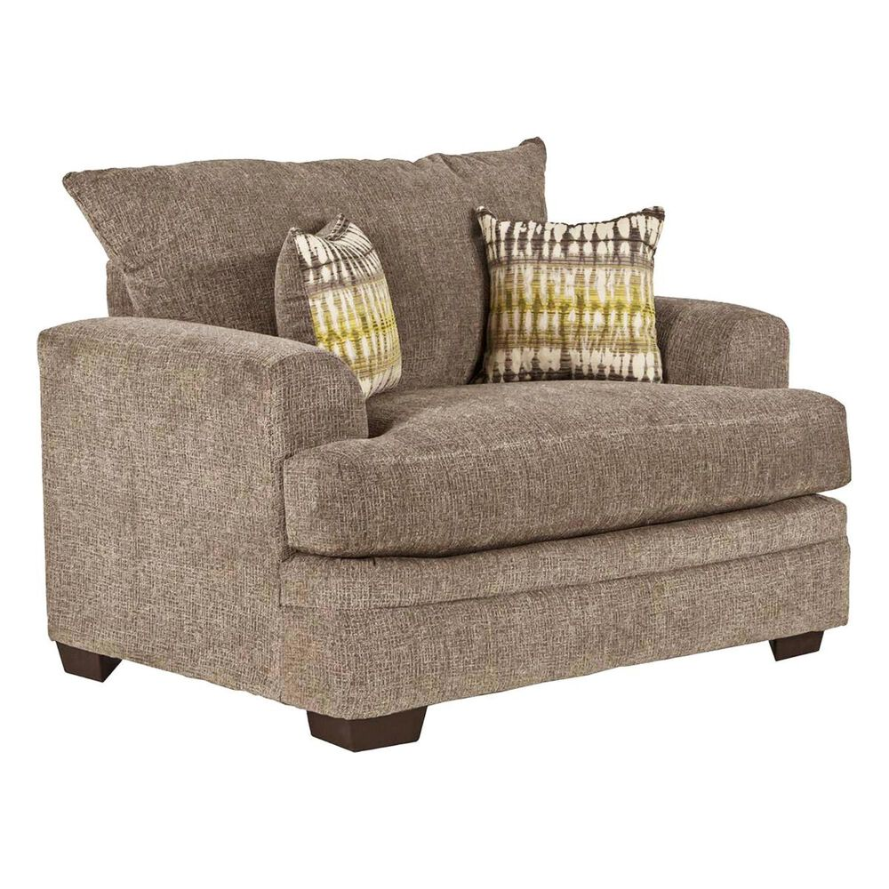 Southaven Chair and a Half in Perth Pewter, , large