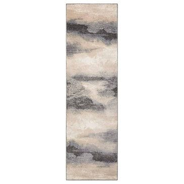 "Nourison Maxell MAE06 2'2"" x 7'6"" Flint Scatter Rug, , large"