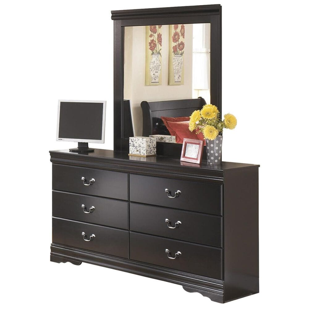 Signature Design by Ashley Huey Vineyard 5-Piece Twin Bedroom Set in Black, , large