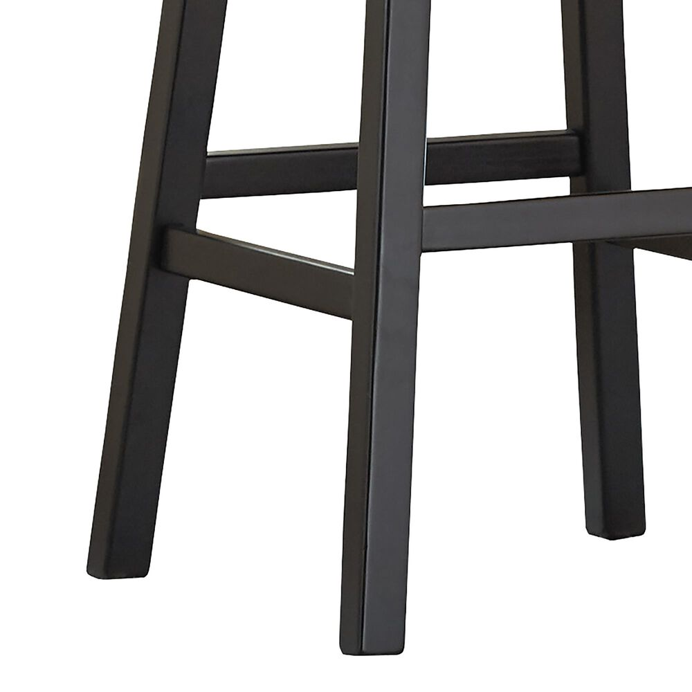 """Signature Design by Ashley Tallenger 30"""" Swivel Barstool with Black Cushion in Dark Brown, , large"""