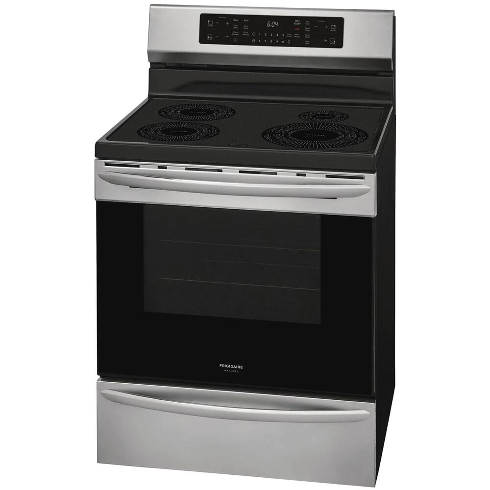 """Frigidaire Gallery 30"""" Freestanding Induction Range with Air Fry in Stainless Steel , , large"""
