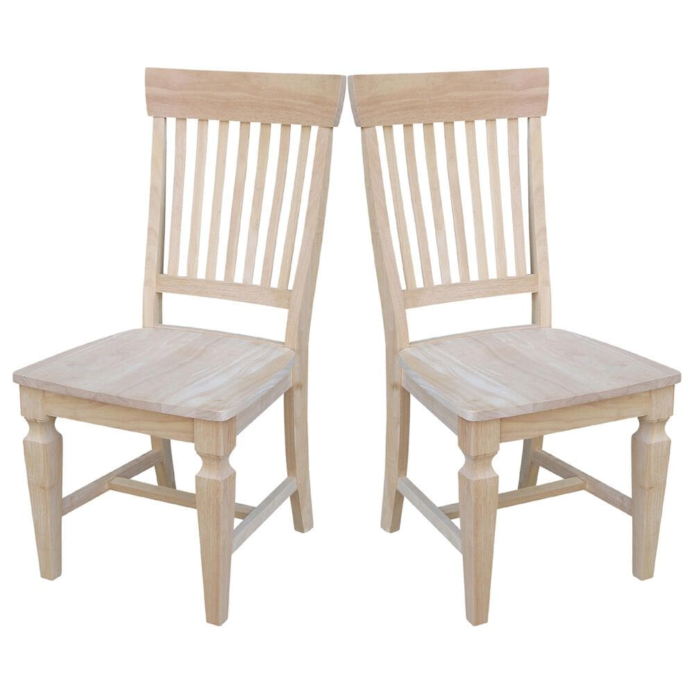 International Concepts Dining Chair in Unfinished, , large