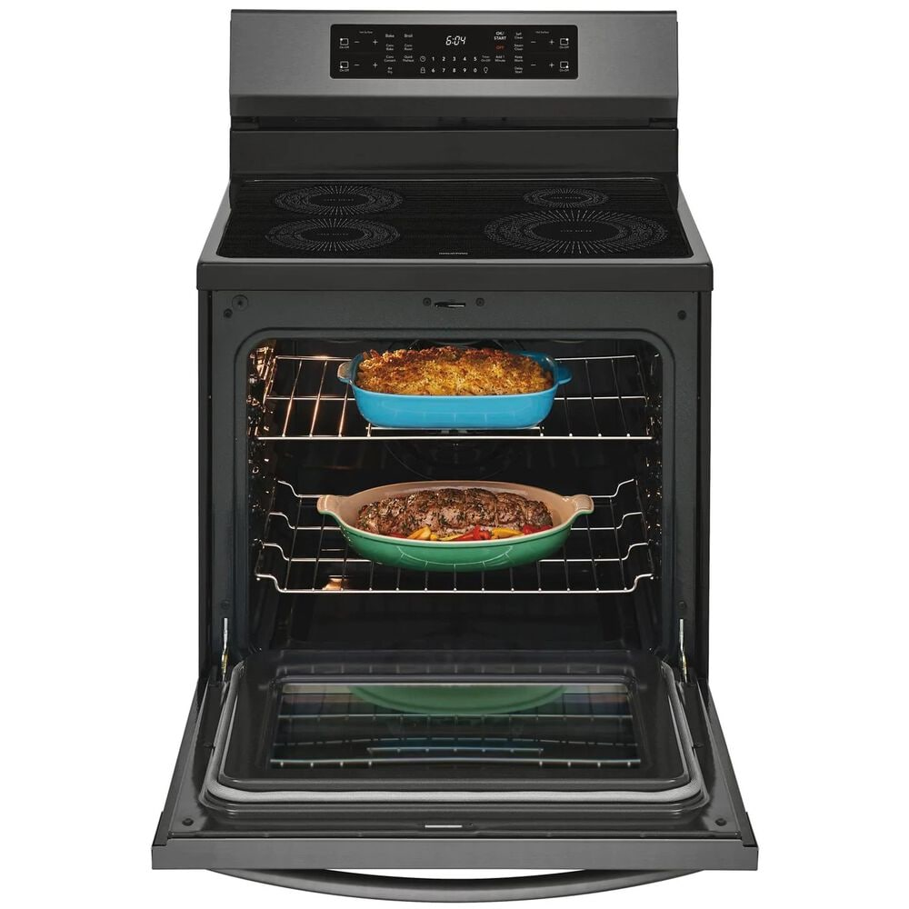 """Frigidaire 30"""" Freestanding Induction Range with Air Fry in Black Stainless Steel , , large"""