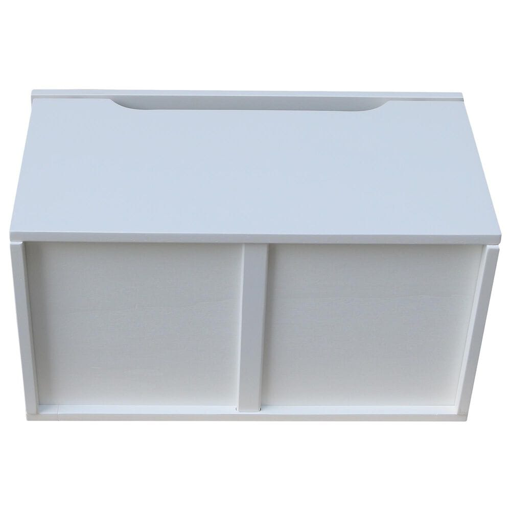 International Concepts Storage Box in White, , large