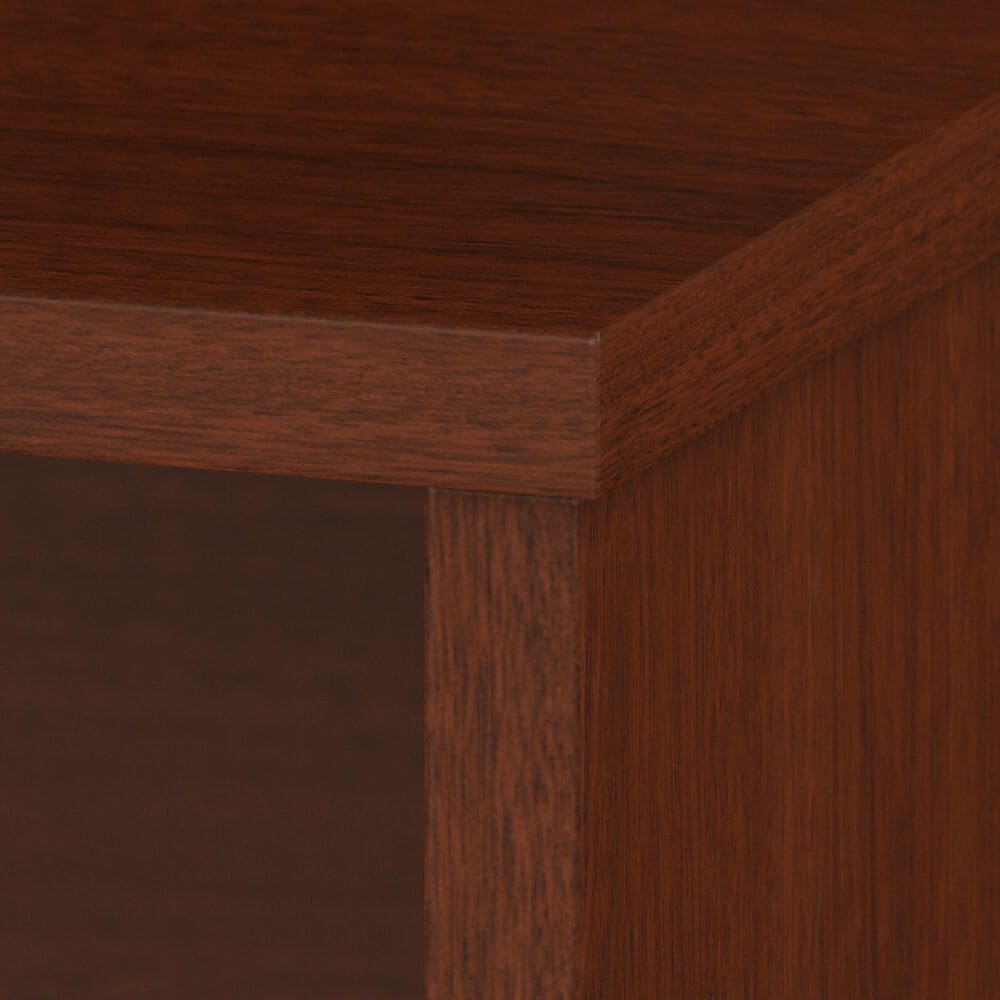 """Bush 60"""" L-Shaped Desk with File in Autumn Cherry, , large"""
