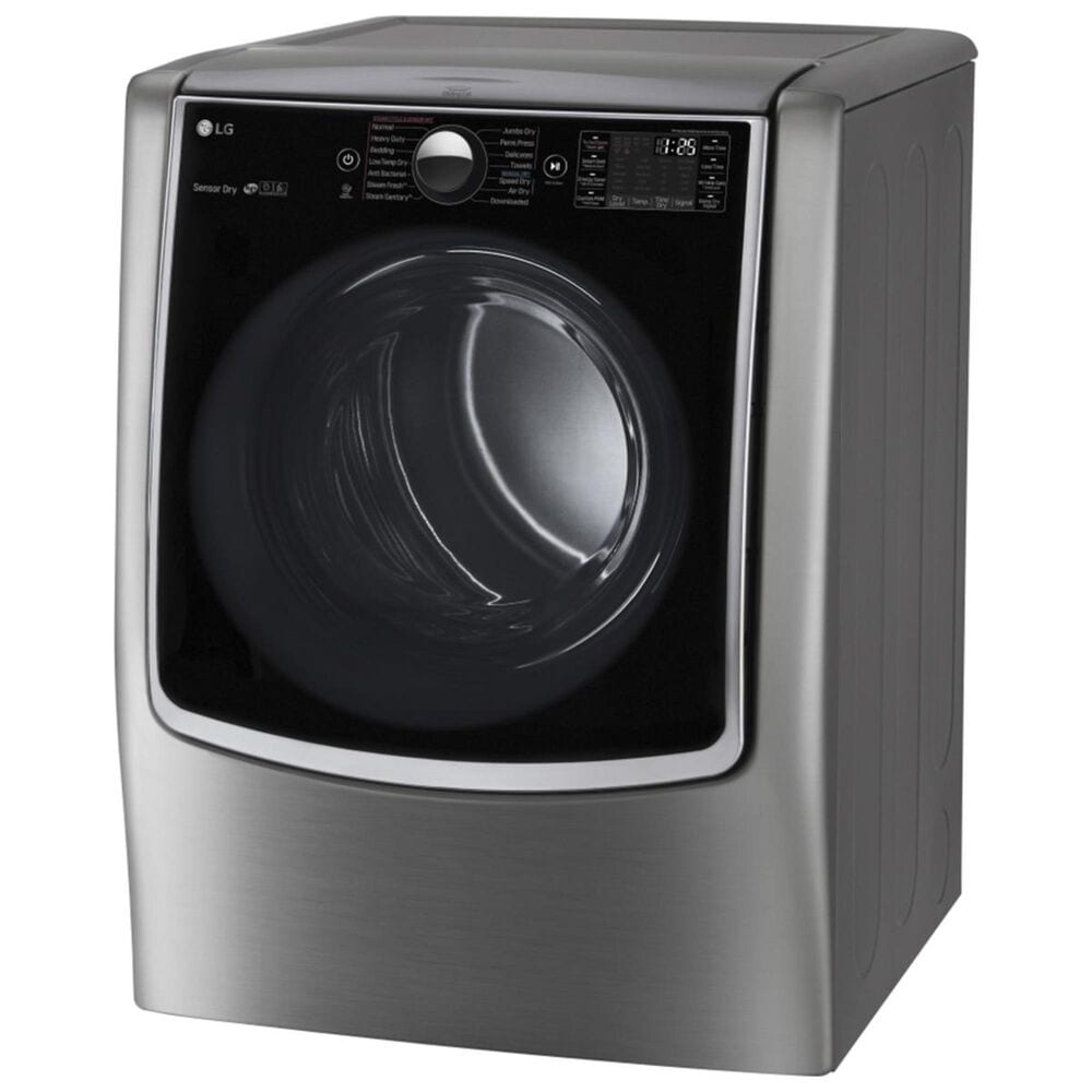 LG Electric Dryer with On-Door Control Panel in Graphite Steel, , large