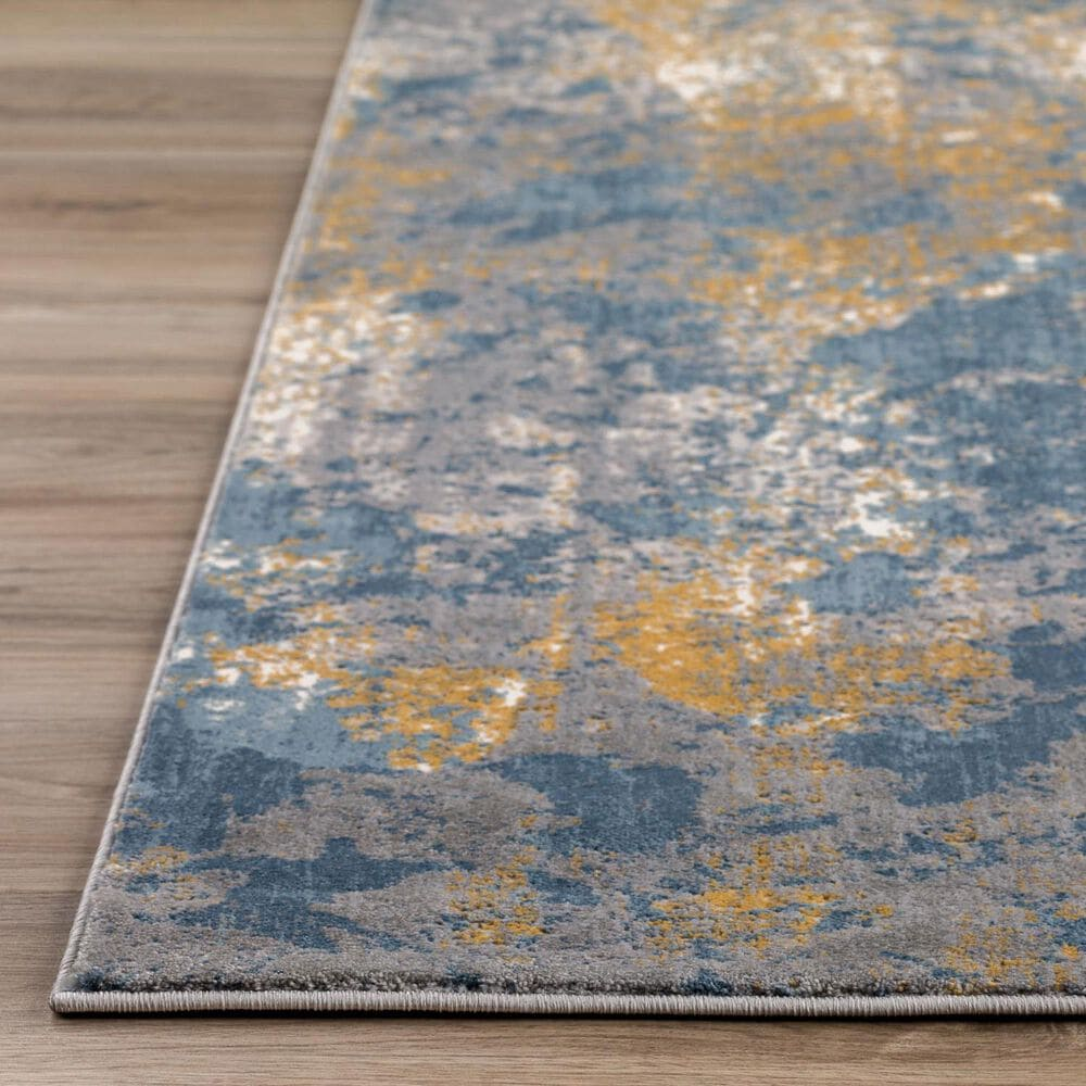 "Dalyn Rug Company Cascina CC9IN 2'3"" x 7'5"" Indigo Runner, , large"