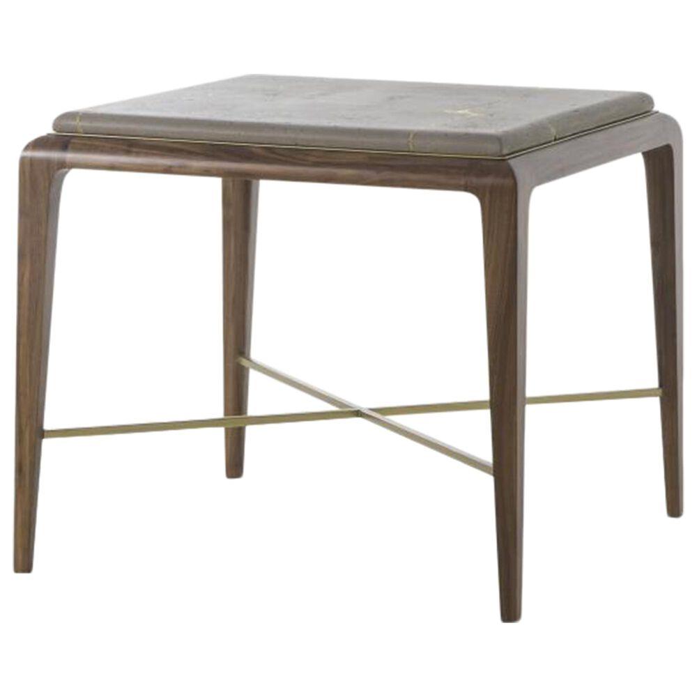 Century Grand Tour Kintsugi Side Table in Medium Brown, , large