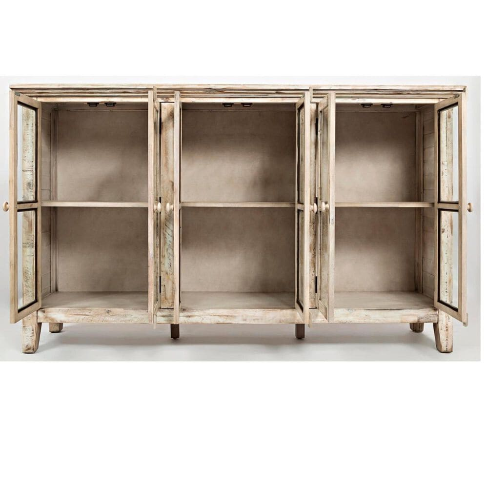 Waltham Rustic Shore Accent Cabinet in Scrimshaw White, , large
