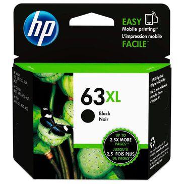 HP 63XL High Yield Black Original Ink Cartridge, , large