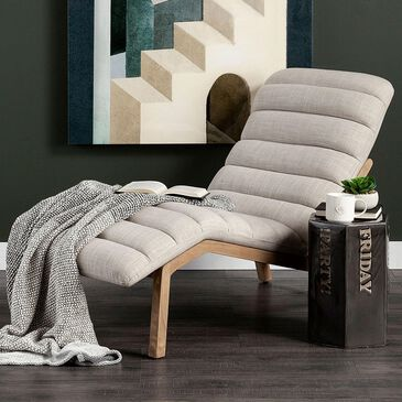 Mercana Pierre Chaise Lounge Chair in Cream, , large