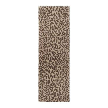Surya Athena ATH-5000 3' x 12' Brown and Camel Runner, , large