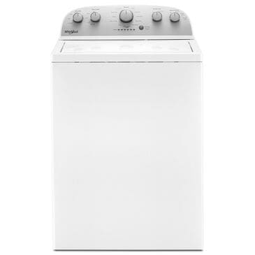 Whirlpool 4.2 Cu. Ft. High Efficiency Top Load Washer with Agitator in White, , large
