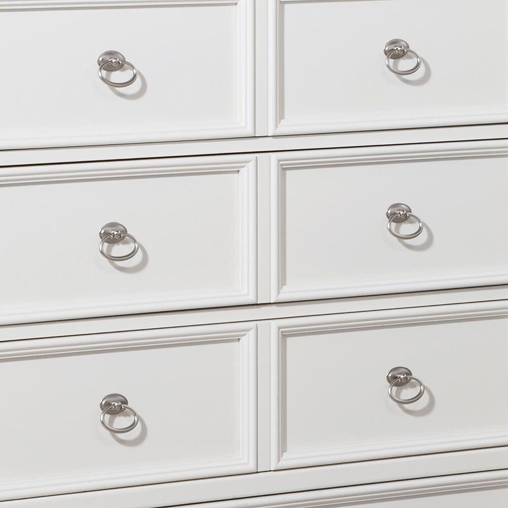 Signature Design by Ashley Prentice 5 Drawer Chest in White, , large