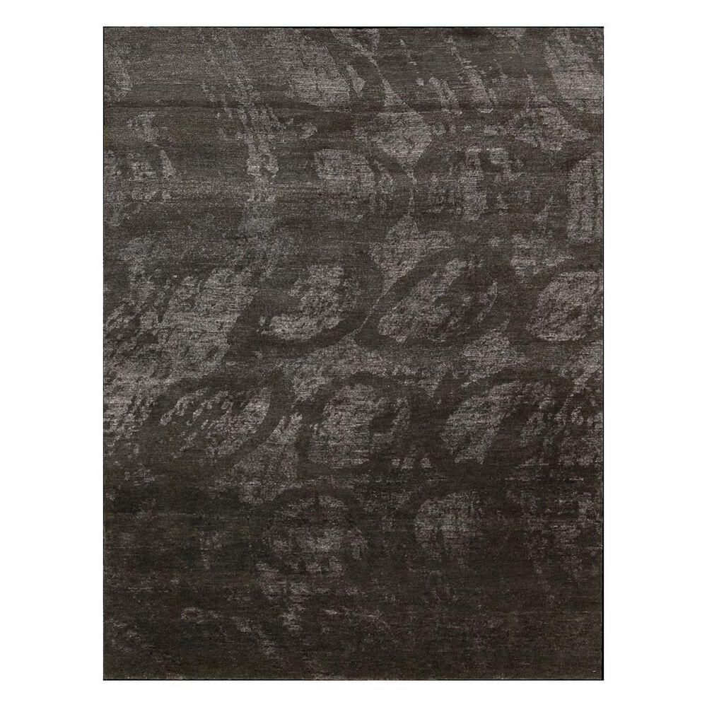 "Nourison Silk Shadows SHA04 5'6"" x 7'5"" Coal Area Rug, , large"