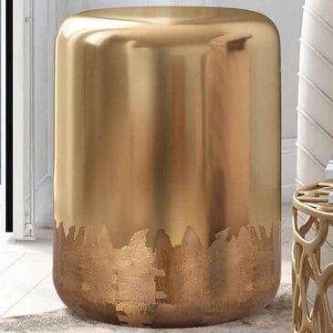 Tov Furniture Zoe Side Table in Gold, , large
