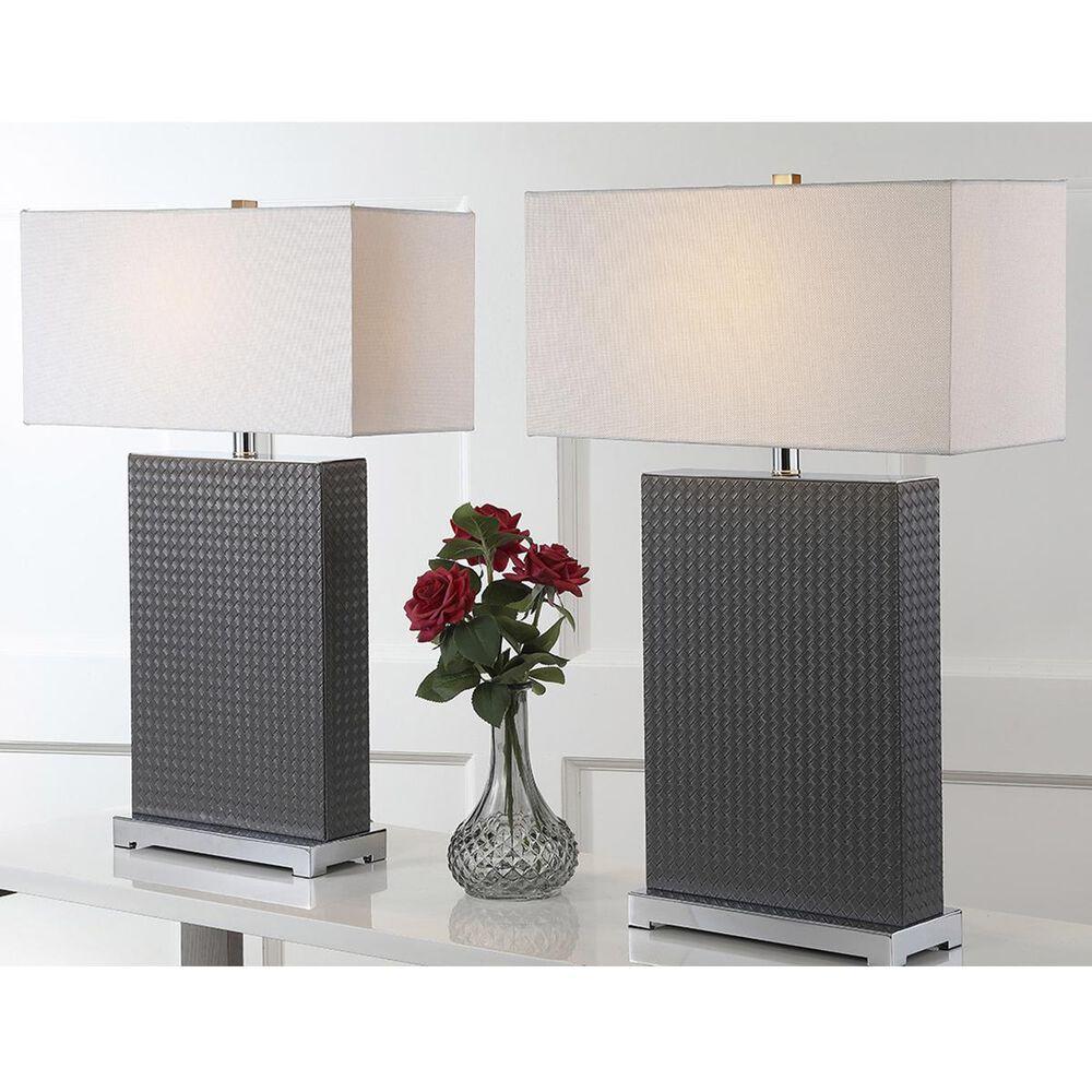 """Safavieh Joyce 27.75"""" Table Lamp in Dark Grey (Set of 2), , large"""