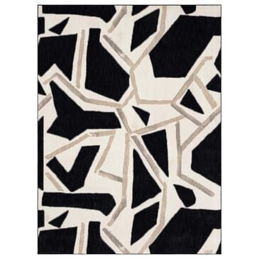 """Stacy Garcia Home Zagoria 5""""3"""" x 7""""10"""" Soot Area Rug, , large"""