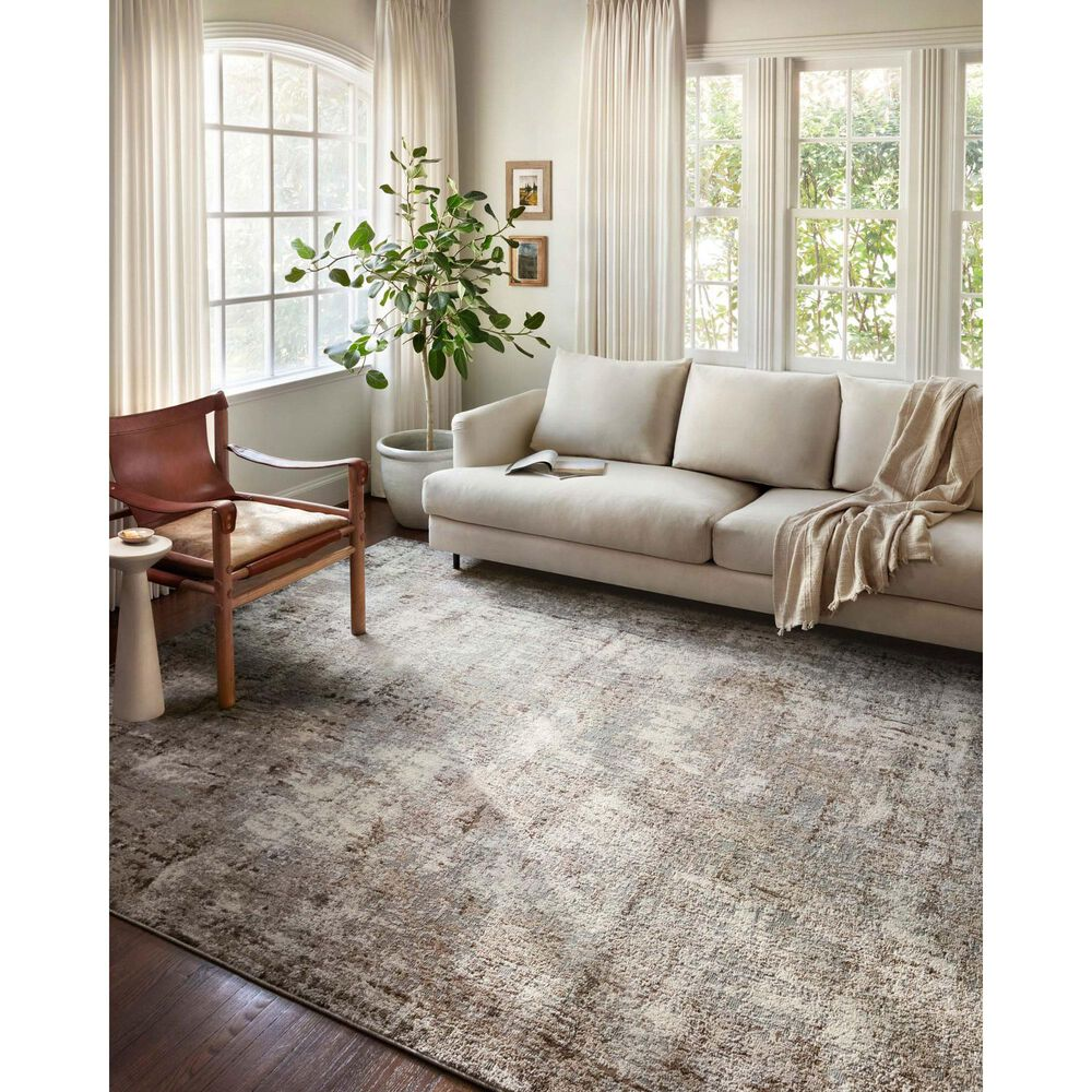 "Loloi II Austen AUS-01 11'2"" x 15' Natural and Mocha Area Rug, , large"