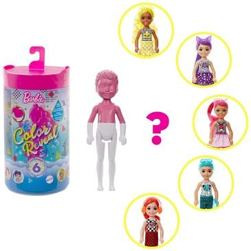 Mattel Barbie Color Reveal Chelsea Doll with 6 Surprises, , large