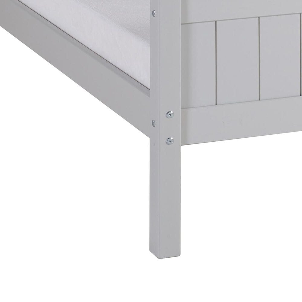 Bolton Furniture Harmony Twin Bed in Dove Gray, , large