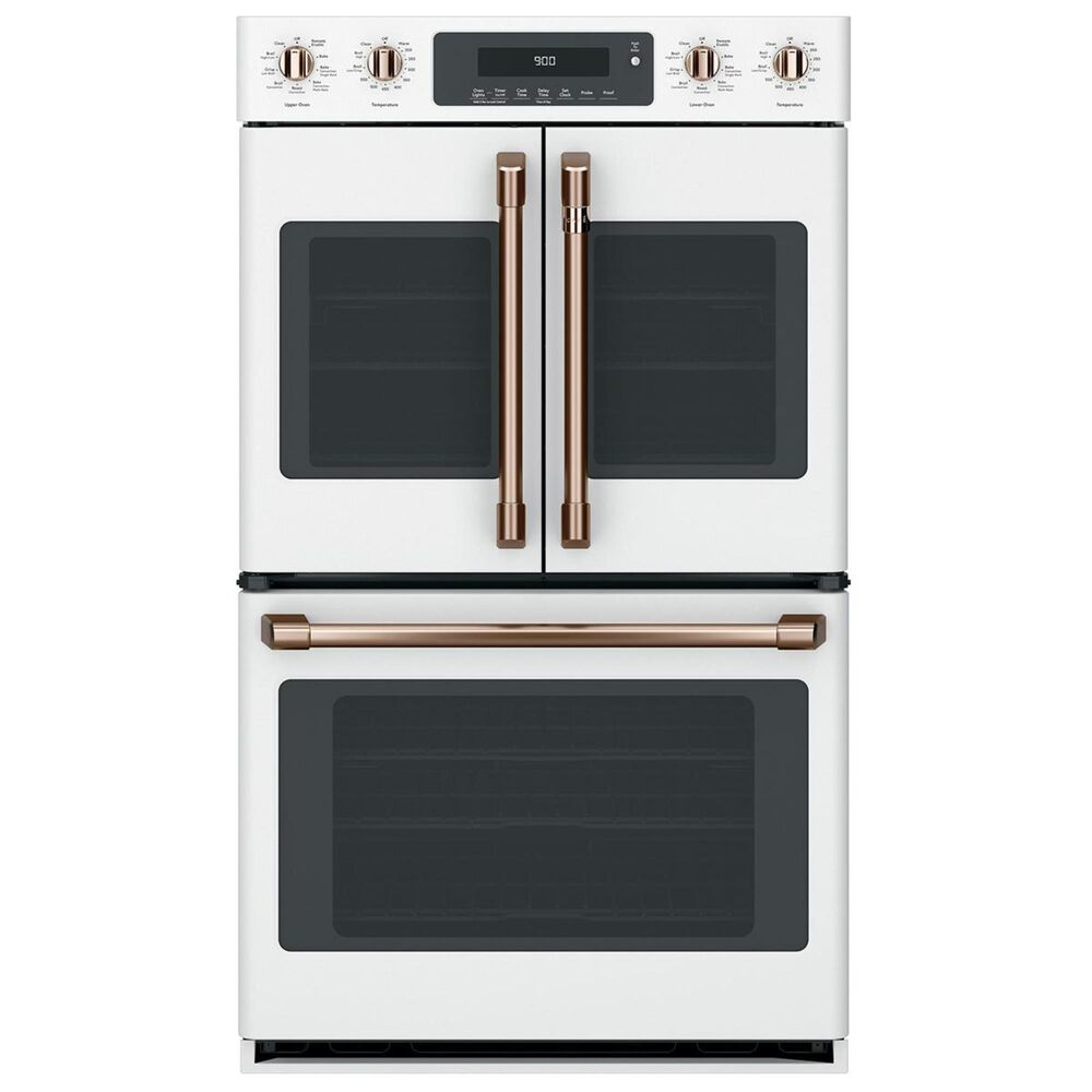 Cafe Handle and Knob Kit for Double Wall Oven in Brushed Copper, , large
