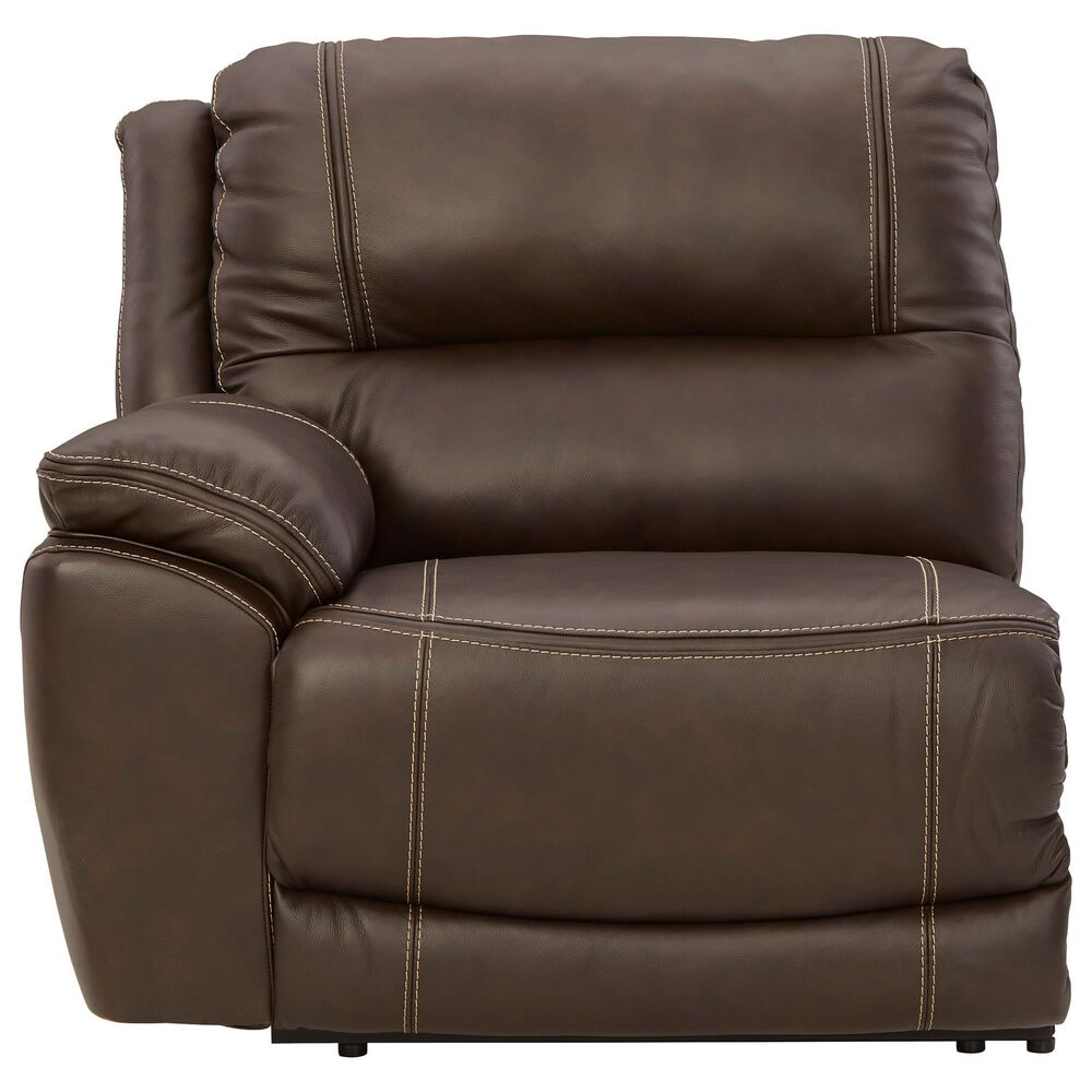 Signature Design by Ashley Dunleith 6-Piece Power Reclining Curved Sectional in Chocolate, , large