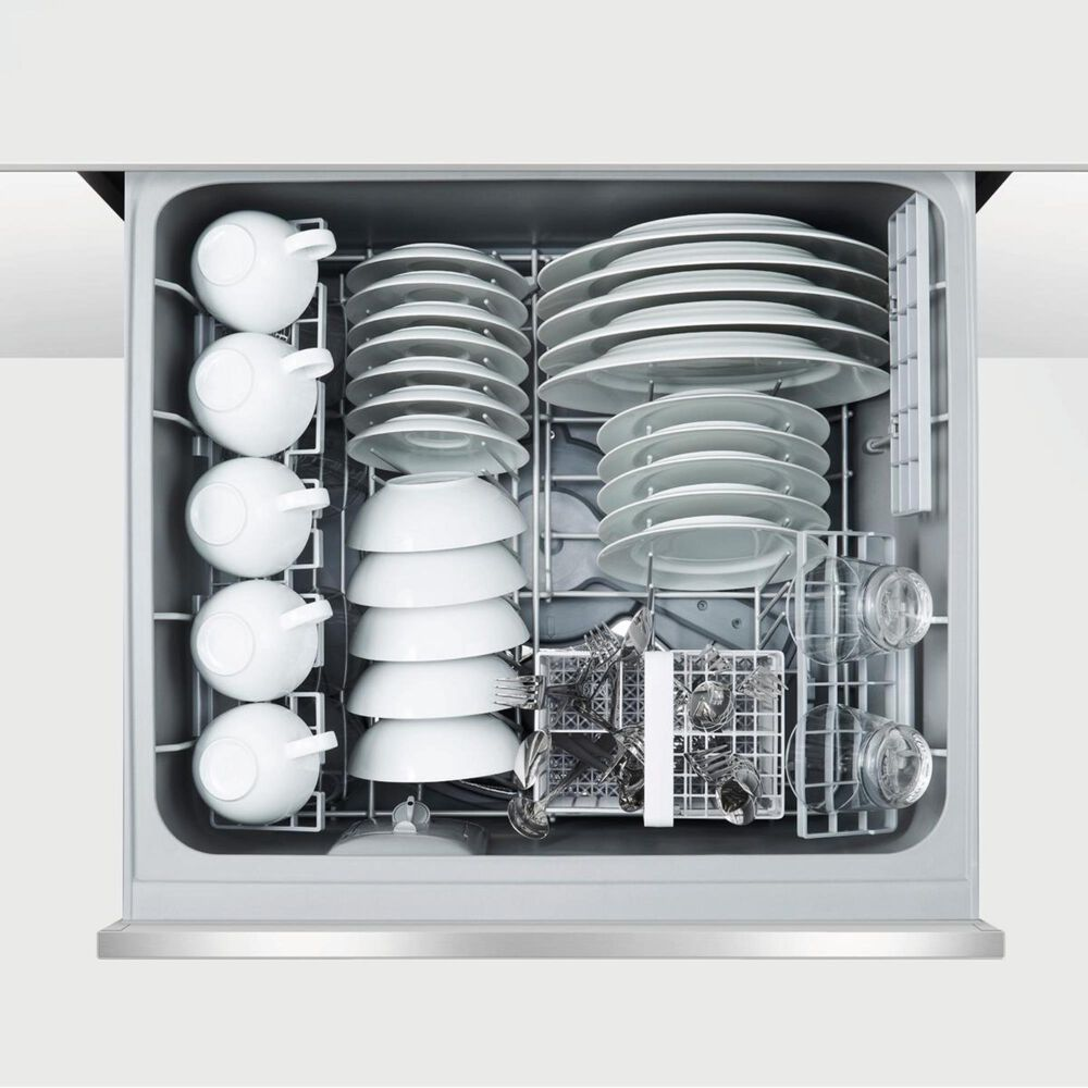 Fisher and Paykel Tall Double DishDrawer Dishwasher with Sanitize and Extra Dry in Stainless Steel , , large