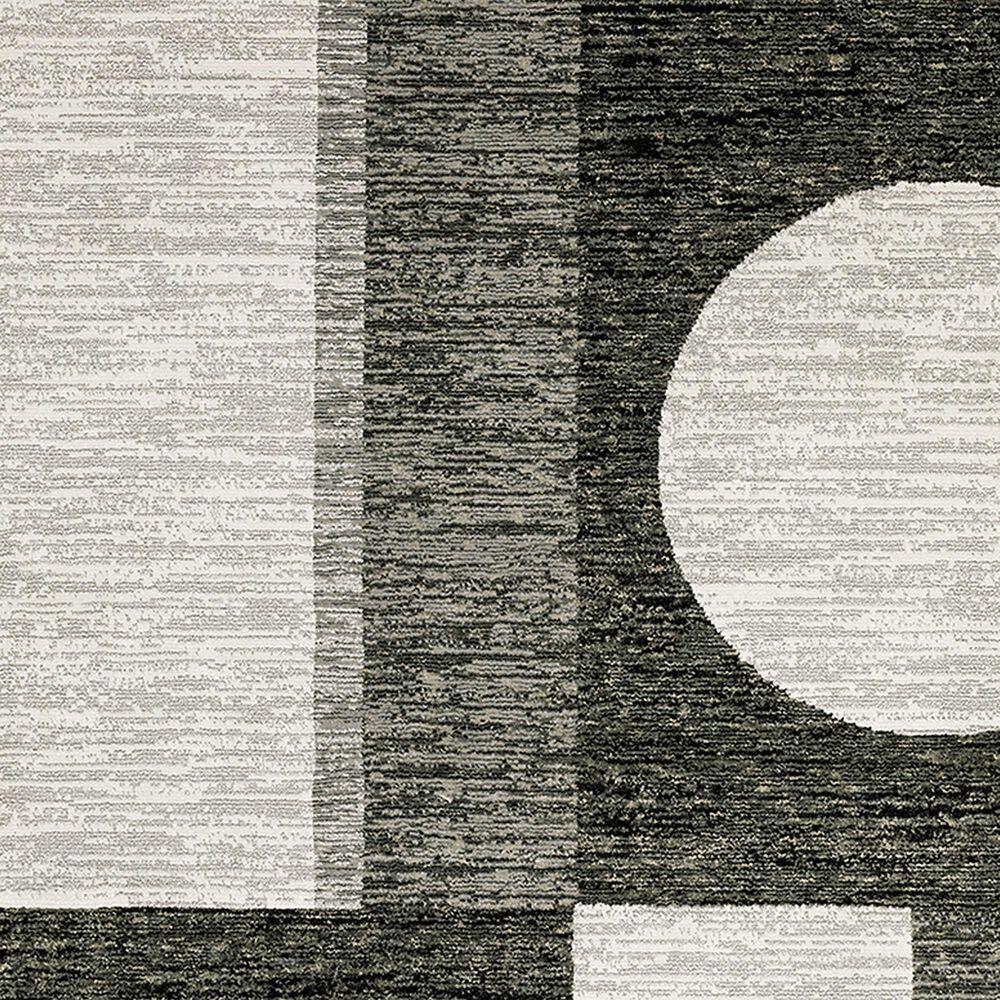 "Oriental Weavers Strada 2'3"" x 8' Charcoal Runner, , large"
