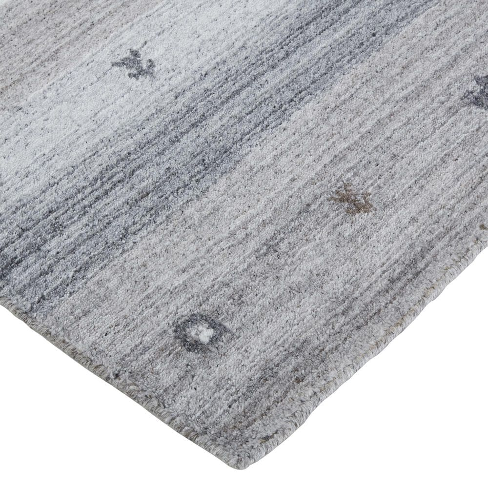 Feizy Rugs Legacy 2' x 3' Charcoal Area Rug, , large