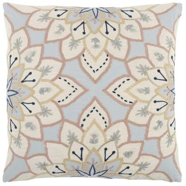 """37B 20"""" x 20"""" Pillow Cover in Light Blue Floral, , large"""