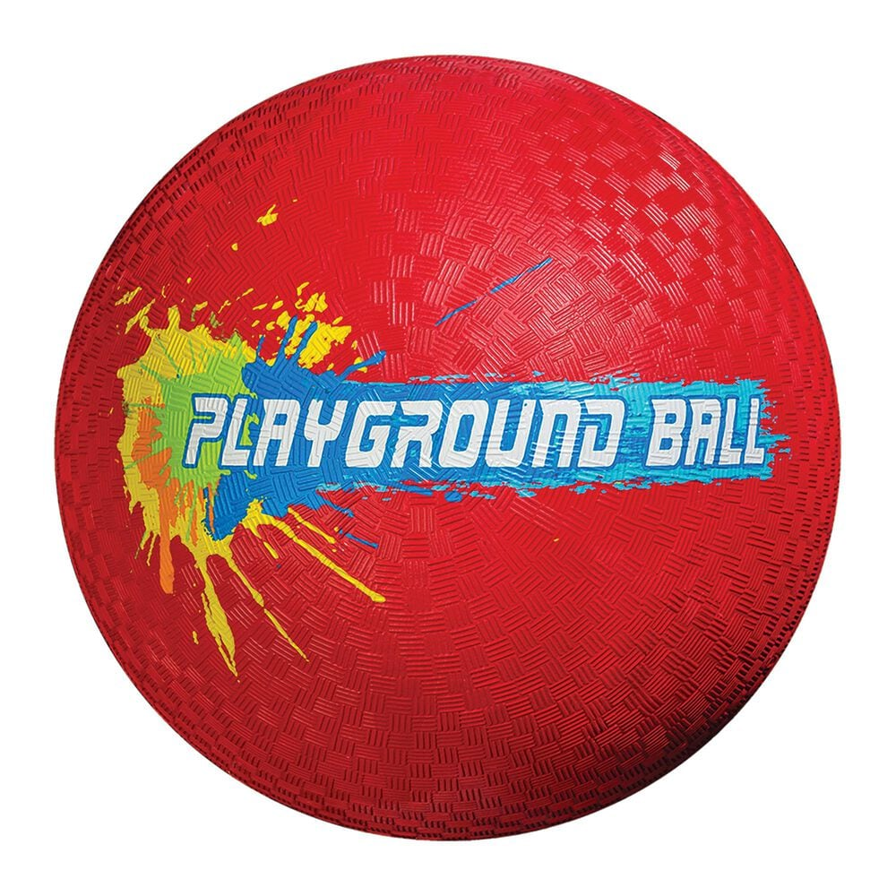 """Franklin Sports 8.5"""" Rubber Playground Ball in Red, , large"""
