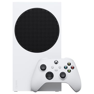 Microsoft Xbox Series S 512GB Digital Only Console in White, , large
