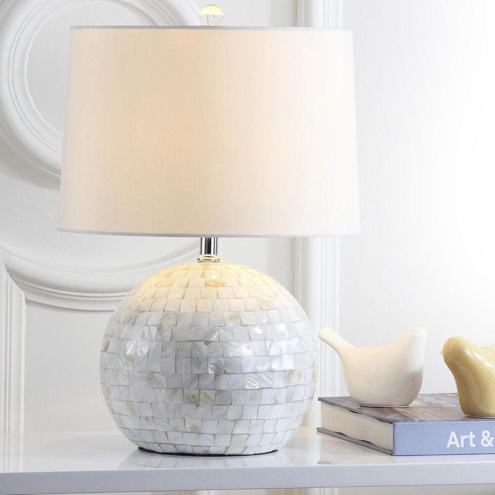 """Safavieh Nikki 21"""" Table Lamp in Creme, , large"""