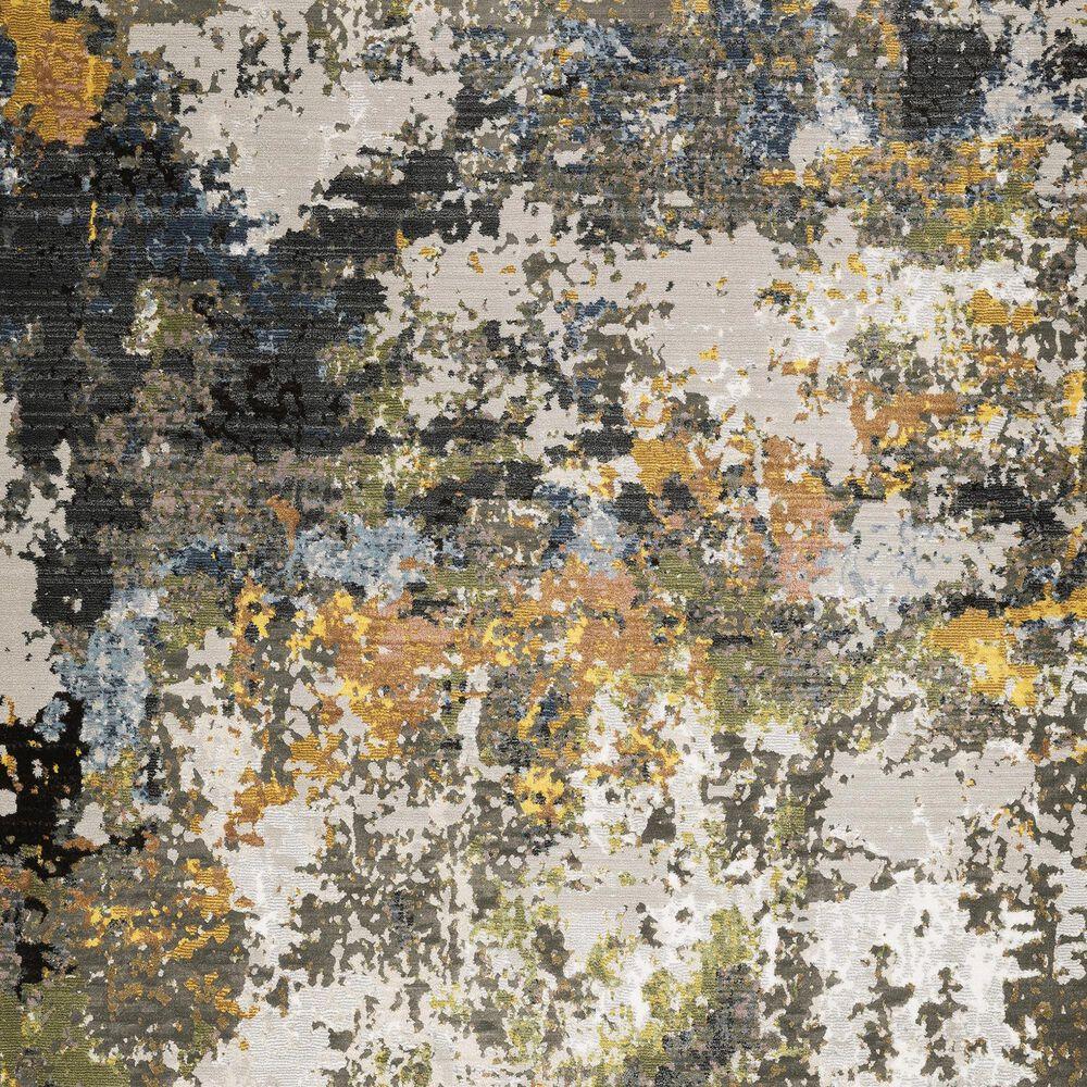"Oriental Weavers Caravan Abstract Painted 7'10"" x 10'10"" Multicolor Area Rug, , large"