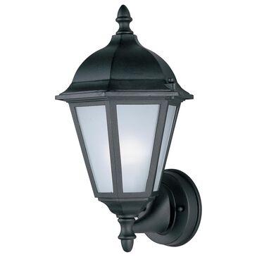 """Maxim Lighting Westlake 11"""" HCO LED 1-Light Outdoor Wall Lantern in Black, , large"""