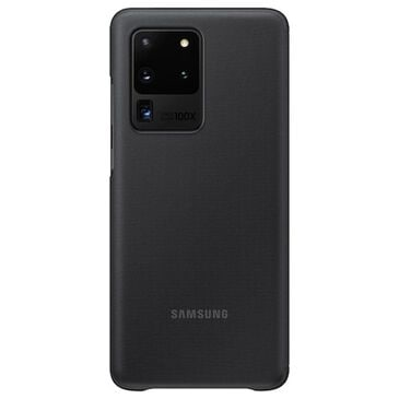 Samsung S-View Flip Cover for Galaxy S20 Ultra in Black, , large