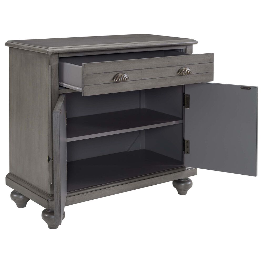 Accentric Approach Hall Chest in Gray, , large