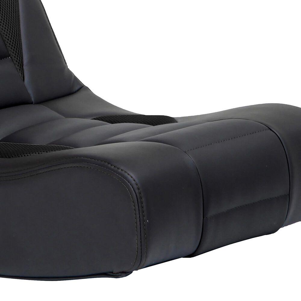 X-Rocker Flash 2.0 Bluetooth Floor Rocking Gaming Chair / Black, , large