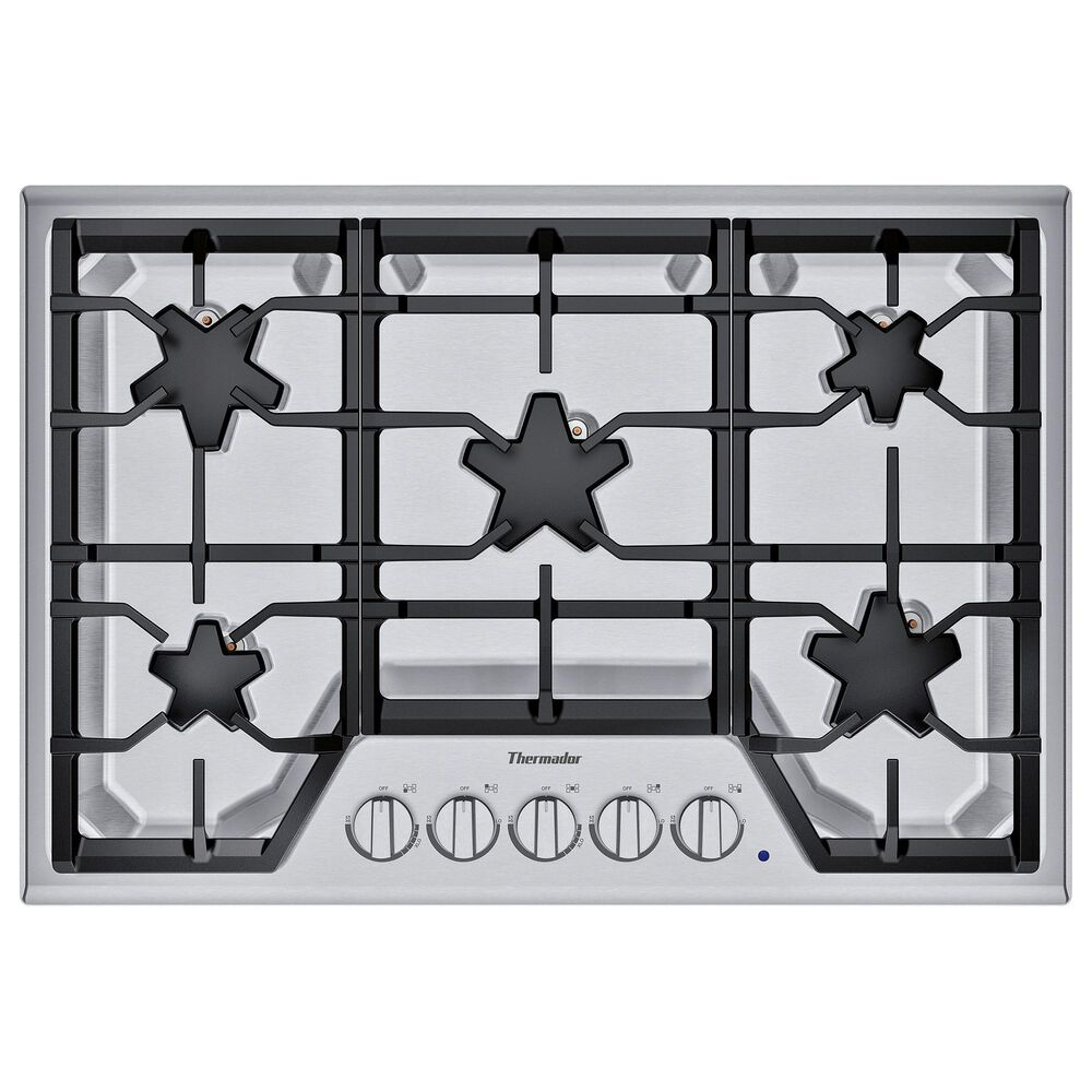 """Thermador 30"""" Masterpiece Star Burner Gas Cooktop, ExtraLow Select - Stainless Steel, , large"""