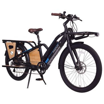 Magnum Payload 18AH Electric Bike in Matte Black, , large