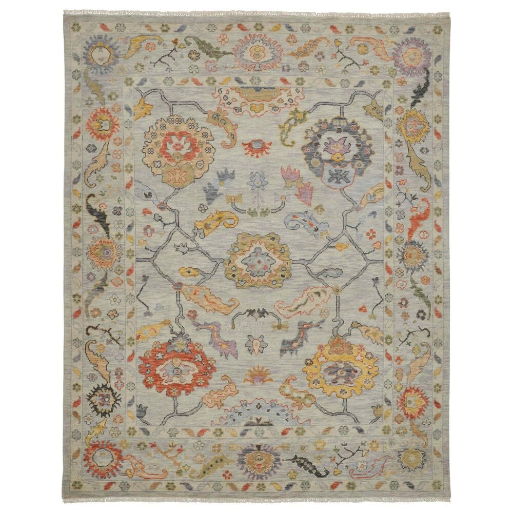 """Feizy Rugs Karina 8'6"""" x 11'6"""" Gray and Yellow Area Rug, , large"""