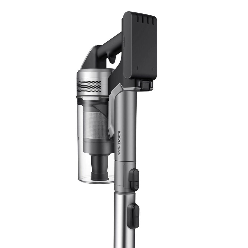 Samsung Jet 90 Complete Cordless Stick Vacuum with Turbo Action Brush in Titan Chrometal, , large