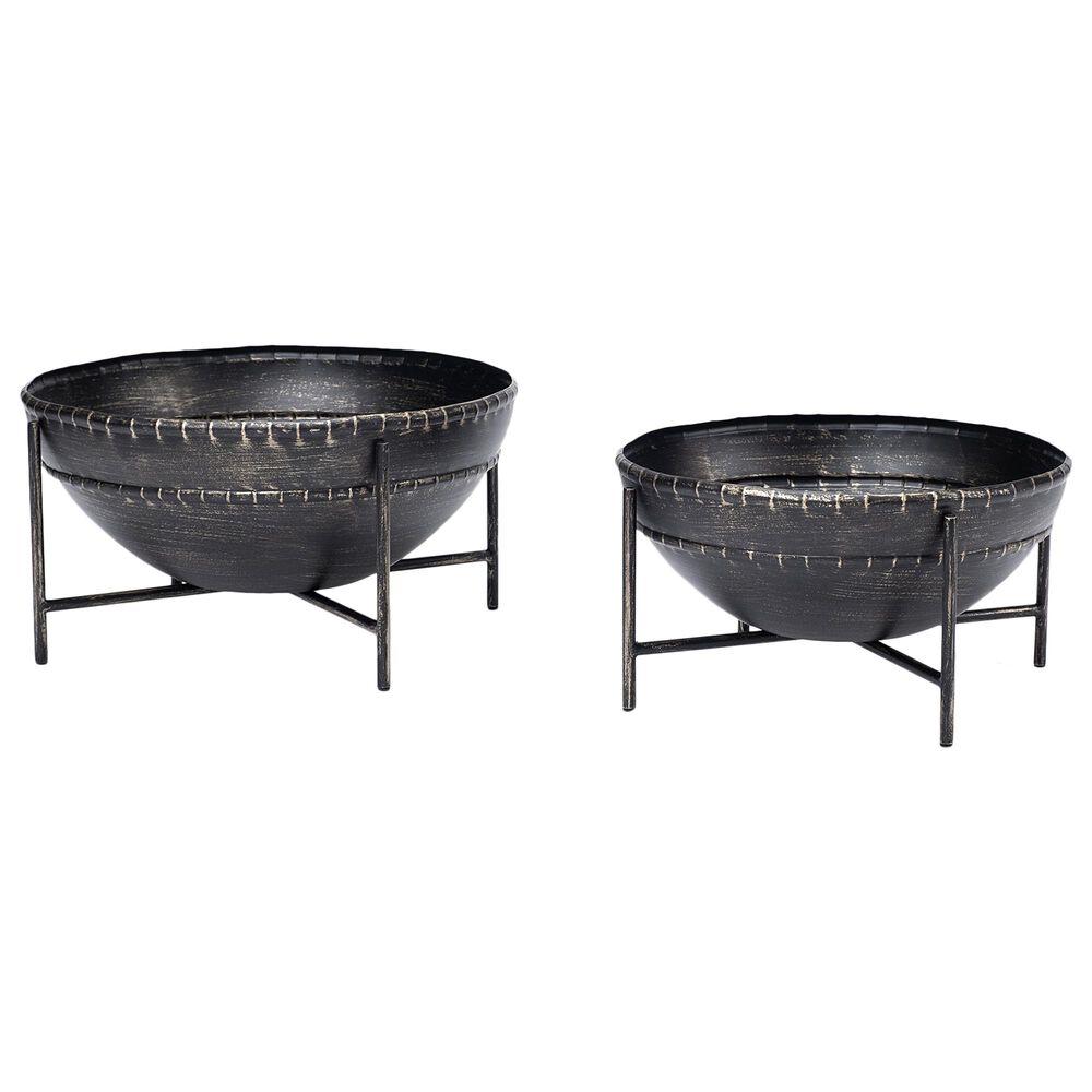 Mercana Cauldron Bowl with Stand (Set of 2), , large