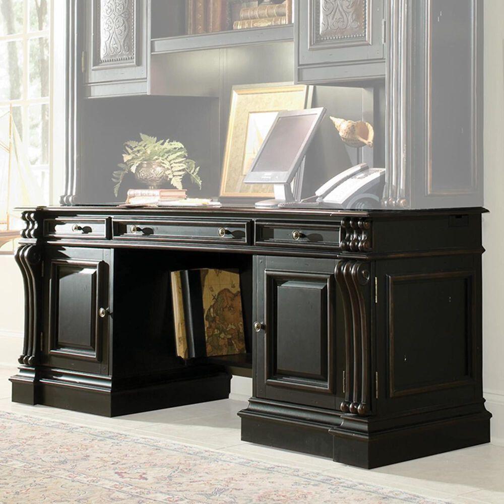 Hooker Furniture Telluride Computer Credenza Desk in Black, , large